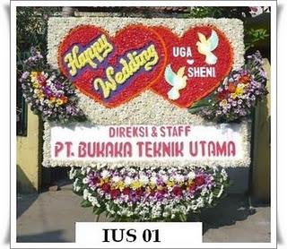 Bunga Papan Pernikahan - www.tokobungadiva.com
