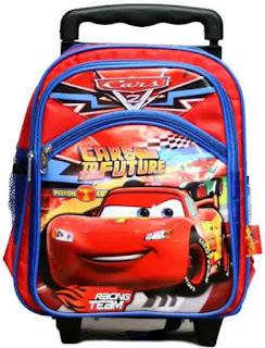 Tas Sekolah Anak Laki-Laki Trolley
