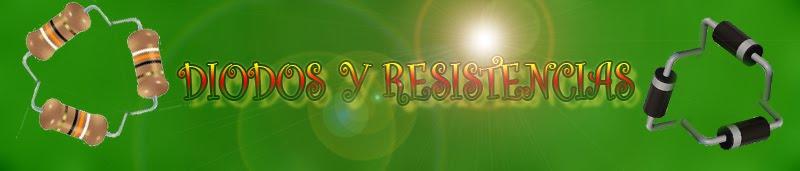 Diodos y resistencias