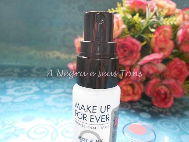 Fixador de Maquiagem Fix+ Make Up For Ever Pele Negra
