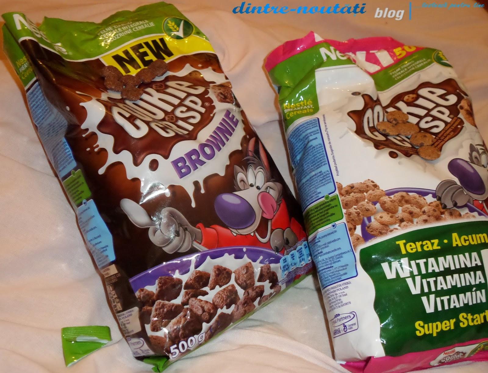 Cereale delicioase cu gust de ciocolată