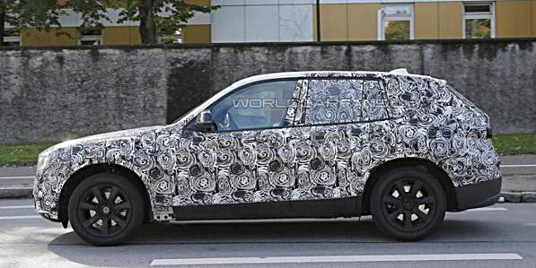 2017 bmw x3 early prototype spied in southern germany auto bmw review. Black Bedroom Furniture Sets. Home Design Ideas