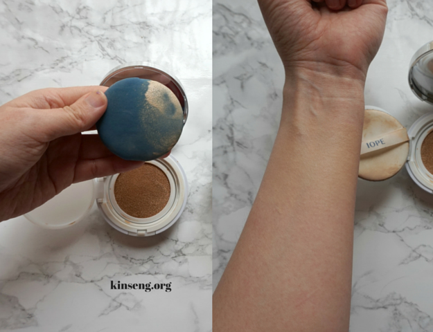 IOPE Air Cushion XP SPF 50+ PA+++ Cover Vanilla C21 review and swatch; Which Amore Pacific cushion refills fit which cushion compact cases? Cushion foundations.