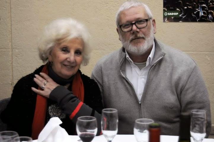 Con Estela Carlotto