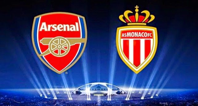 Hasil Arsenal vs Monaco