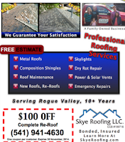 Reputable Roofing Services - Southern Oregon
