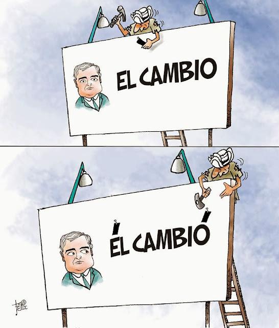 Por Felix Barrios, Premio Nacional de Periodismo (Panamá) - Caricatura - La Estrella