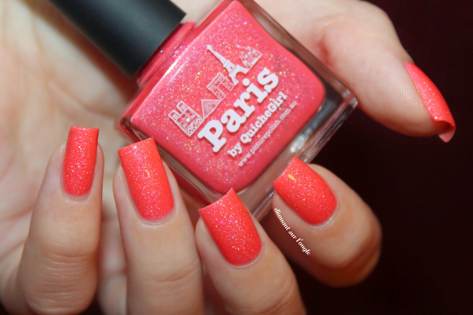 """Swatch of the nail polish """"Paris"""" from Picture Polish"""