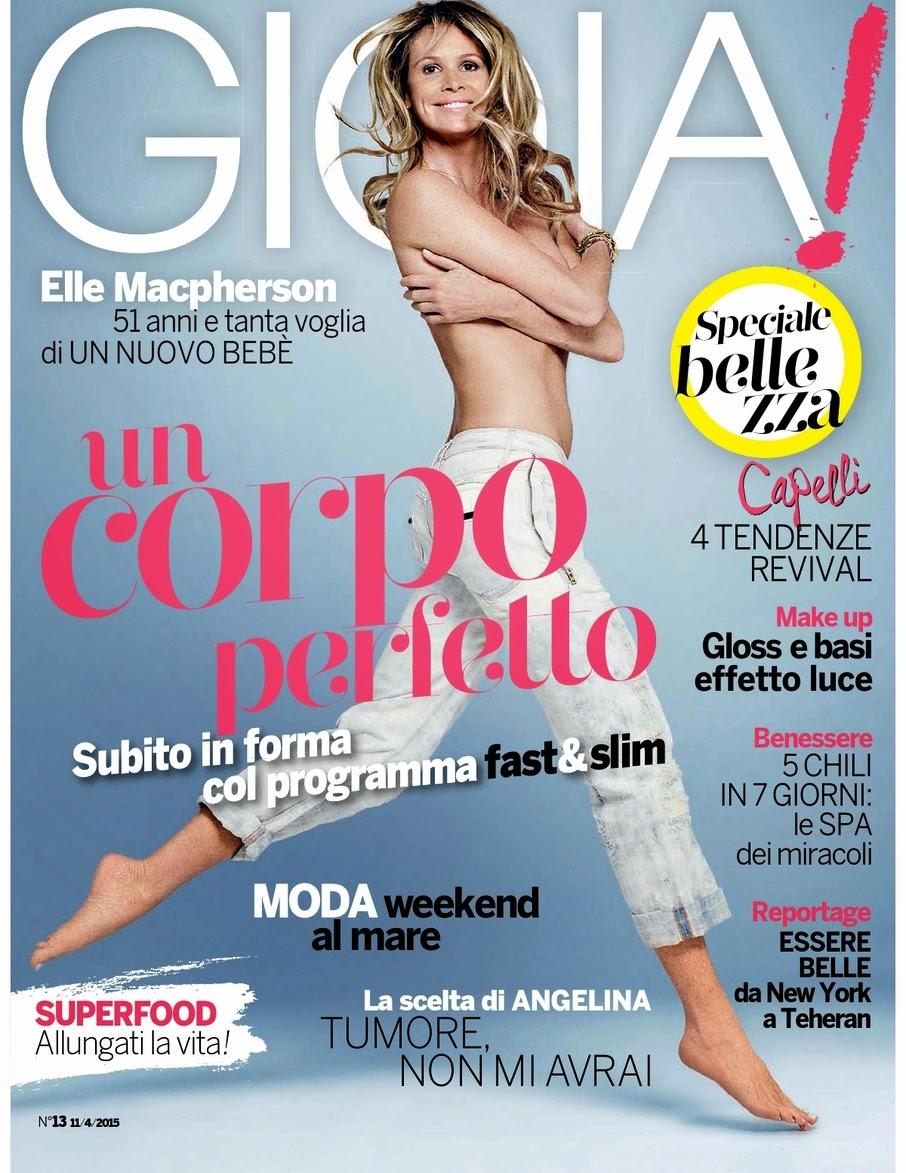 Actress @ Elle Macpherson - Gioia Italy, April 2015