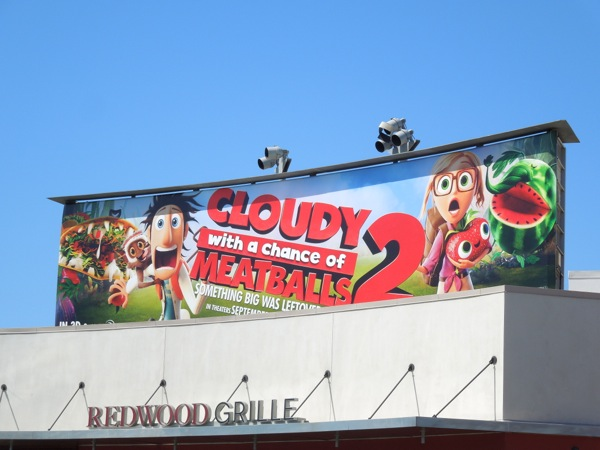 Cloudy Chance of Meatballs 2 billboard