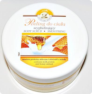 Joanna, Z Apteczki Babuni, Peeling z proteinami mlecznymi i ekstraktem z miodu