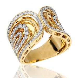 Anéis femininos de Ouro 18k