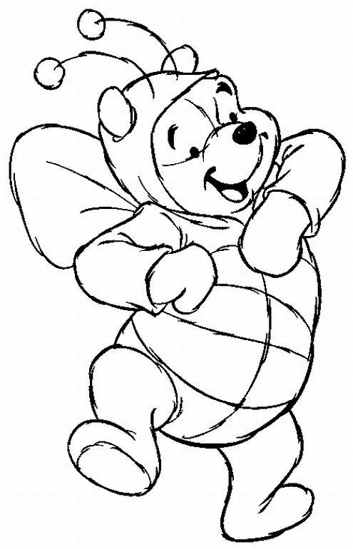 cartoon coloring pages for free - photo#12