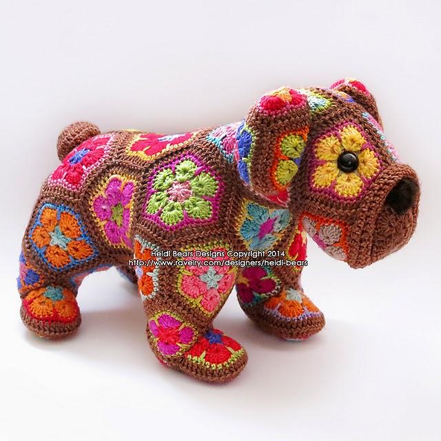 naturalmente lanas: Flores africanas a ganchillo