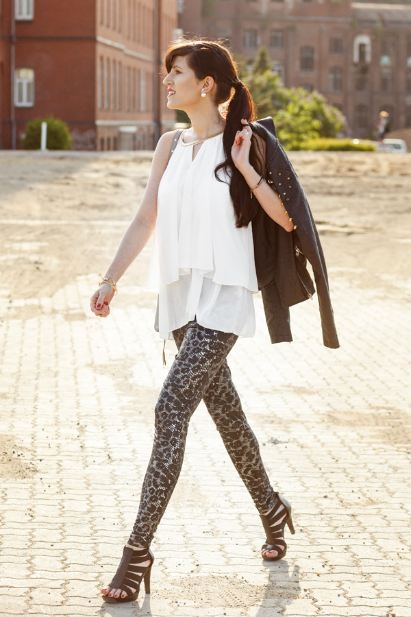 Bild, Outfit, Prints, Animalprints, Sommer, Trend, Hannover, Blogger, Fashionblogger, Stylediary, Leder, Schlangenprint, Motto, The Bloggers Choice, Fashionblog, Fashionblogger, Lookbook, Outfit, Streetstyle