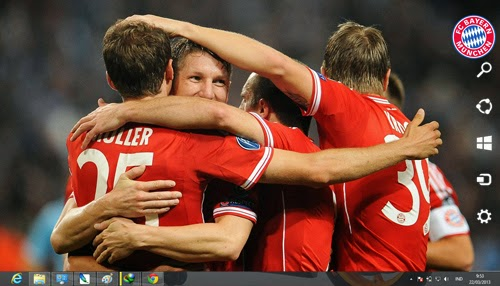 2013/2014 Fc Bayern Munchen Theme For Windows 7 And 8 8.1