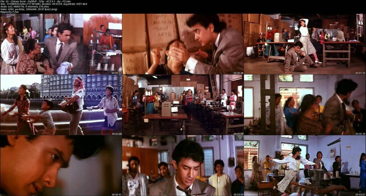 Hum Hain Rahi Pyar Ke (1993) - DvDRiP - 720p - AC3 - All ViDeoS - Multi-Links