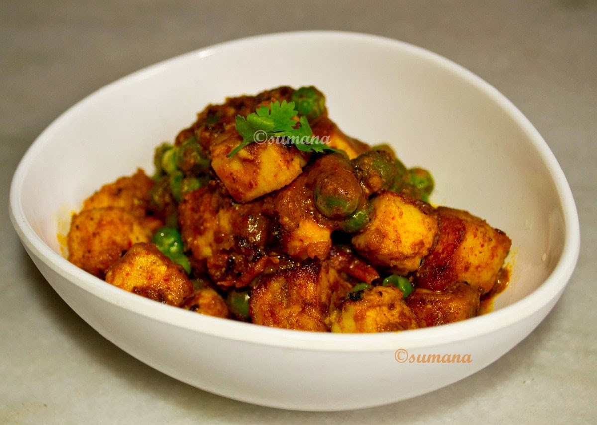 You can also try makai matar paneer , another paneer recipe with green ...