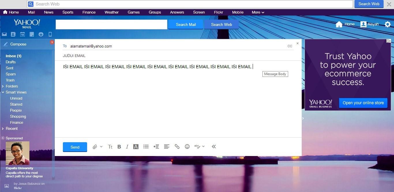 Cara Mengirim Email Yahoo!