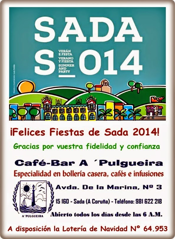 Fiestas de Sada 2014
