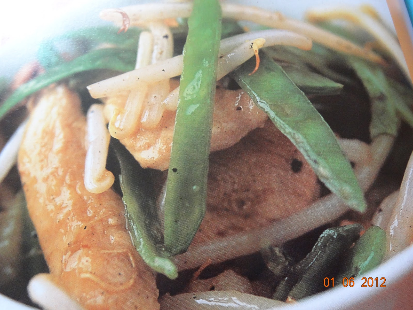 Recettes equilibre et saveurs poulet saute aux mange tout - Cuisiner des pois mange tout ...