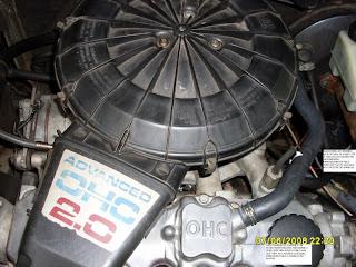 Limpeza do sistema de ventilação positiva do Cárter - Monza, Kadett, Vectra A 001