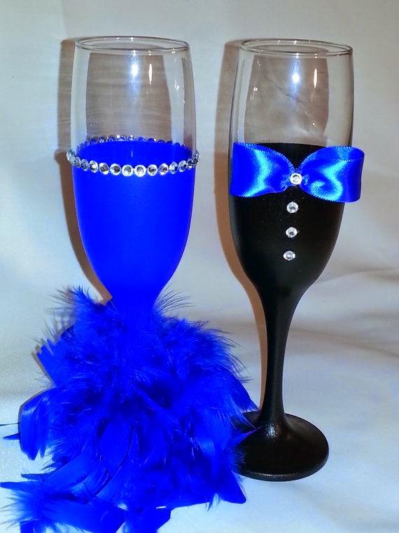 Decora tus copas para boda 56