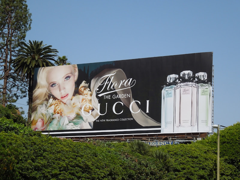Gucci Flora Garden fragrance billboard