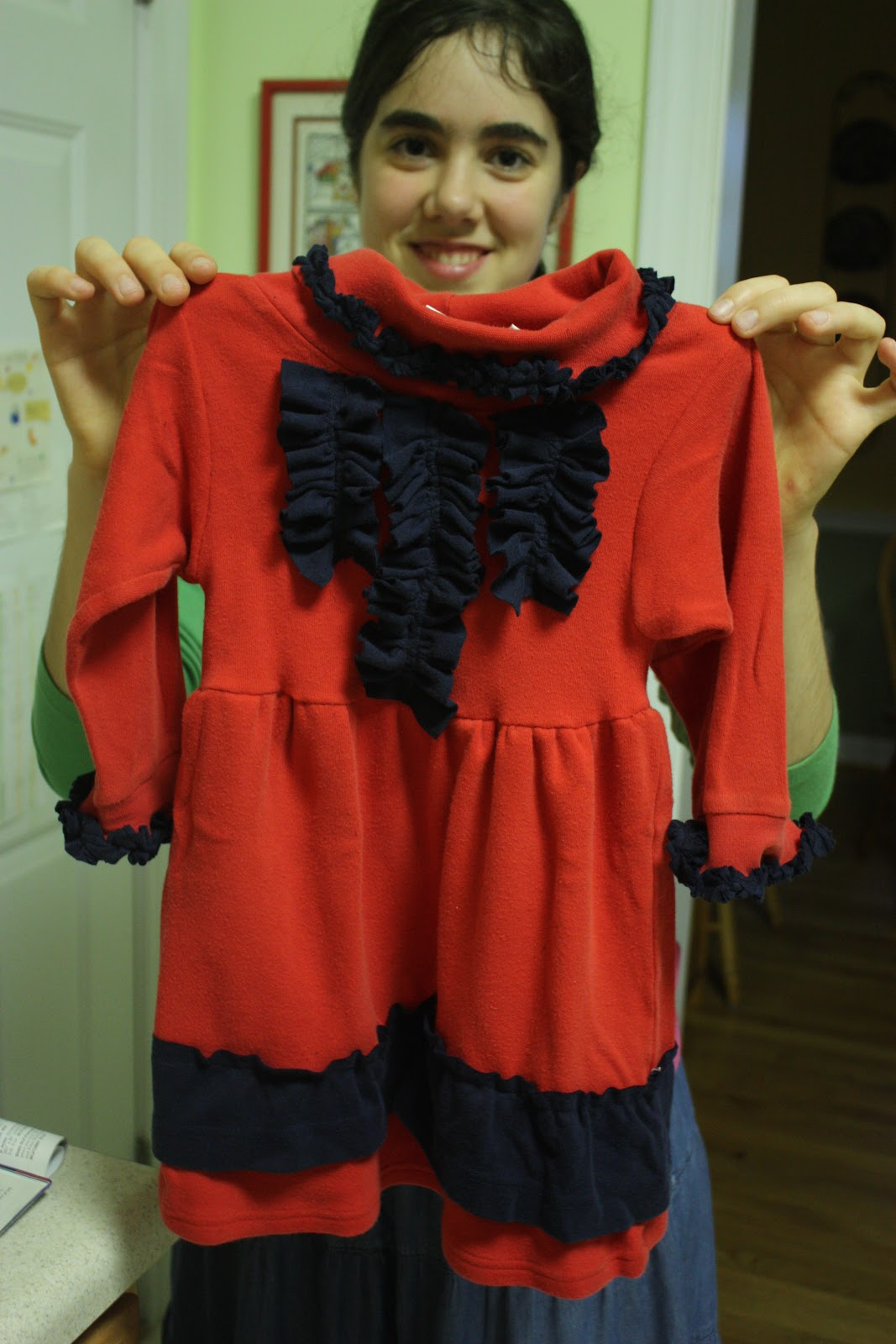 ... Legend of a Seamstress: Tutorial Tuesday: Turtleneck to Toddler Dress
