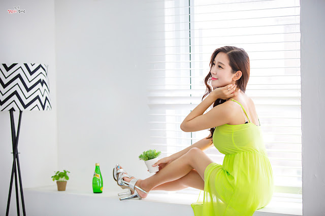 3 Han Ji Oh - Indoor Shoot - very cute asian girl-girlcute4u.blogspot.com