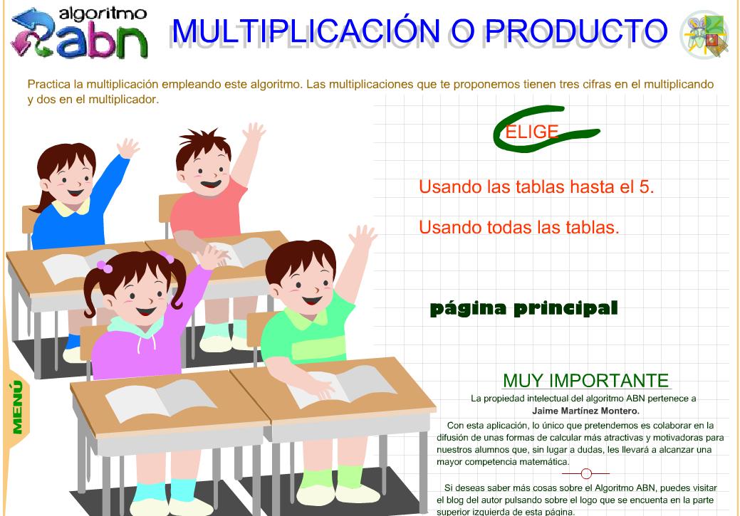 Practica la Multiplicación ABN