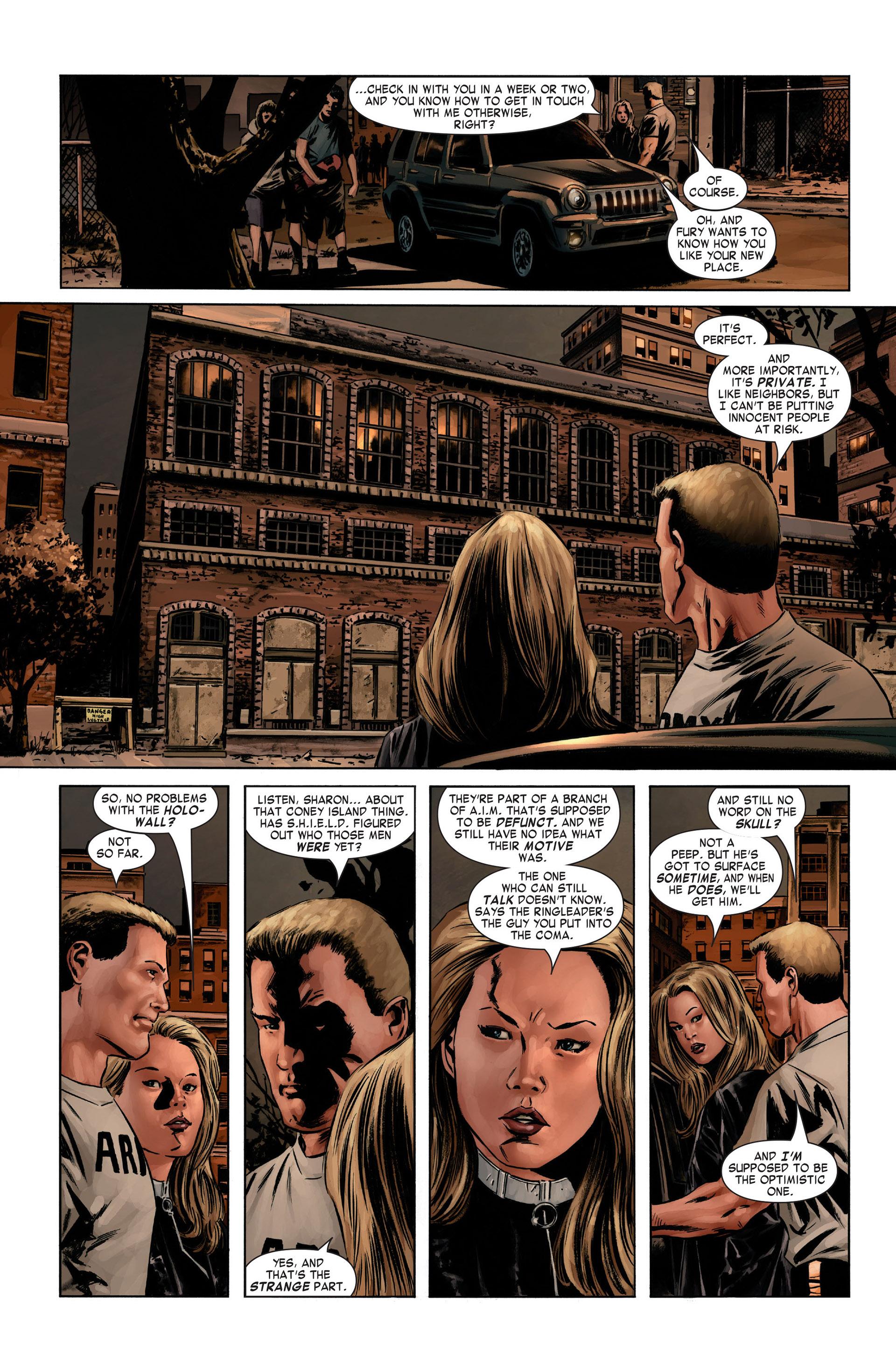 Captain America (2005) Issue #1 #1 - English 22
