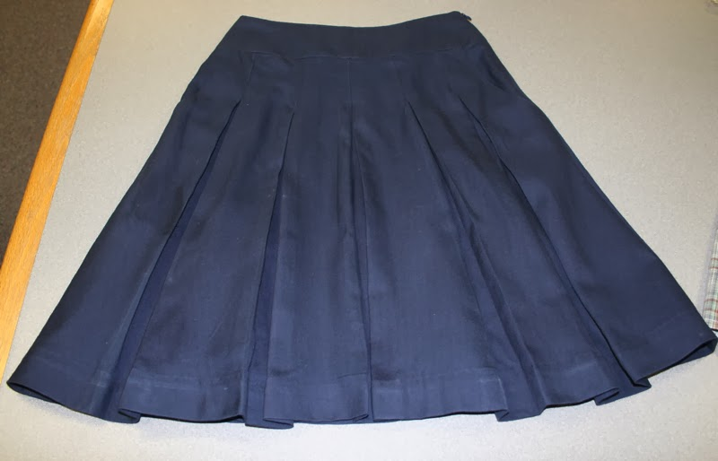 Stepalica Patterns: Zlata skirt - testing the pattern, Kathy