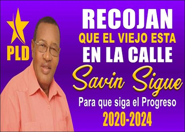 DOMINGO DE LOS SANTOS -SAVIN-ALCALDE DE VICENTE NOBLE 2016-2020