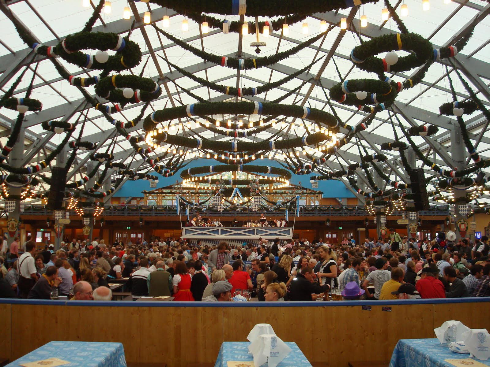 The Pschorr - Bräurosl tent has been around for over a hundred years and run by the same Heide family seven generations all that time. & ROWDY IN GERMANY: Oktoberfest Tents