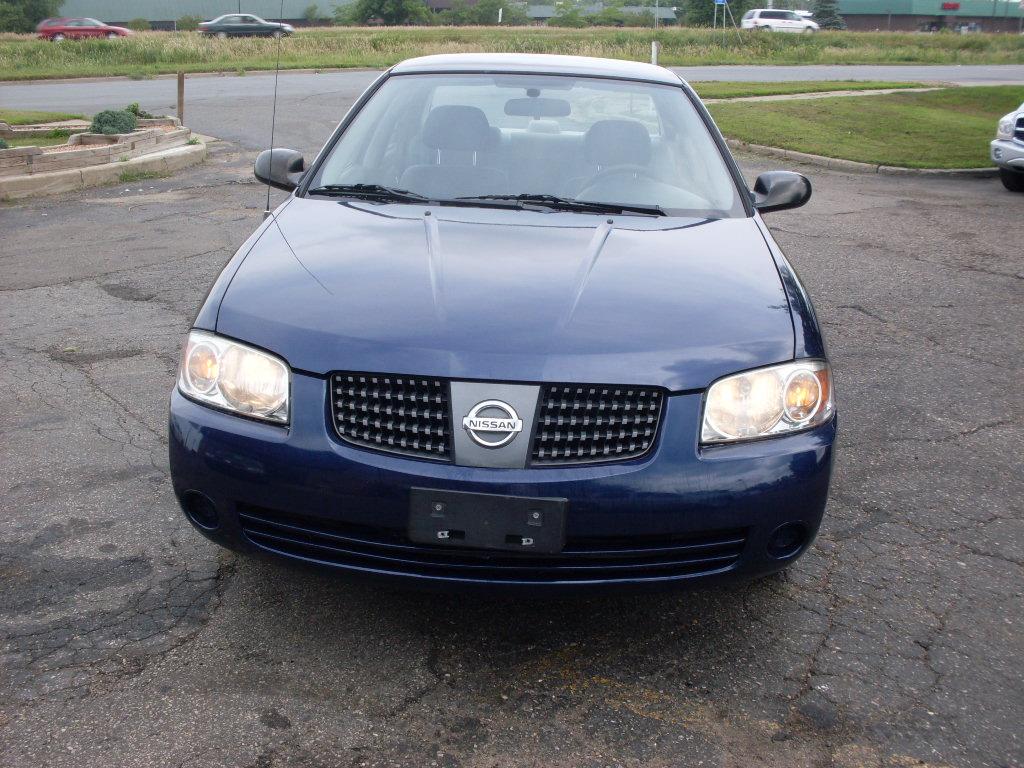 Nissan Sentra Blue