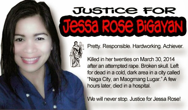 Justice for Jessa Rose Bigayan