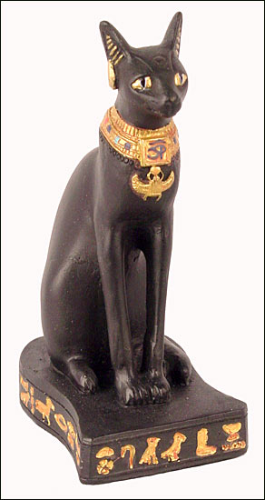 Egyptian Cat Statue Name