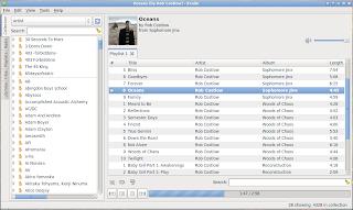 Exaile, reproductor liviano para Ubuntu, pocos recursos ubuntu liviano