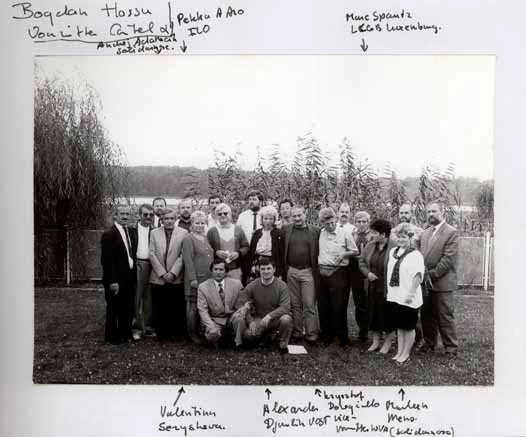 GROUP PHOTO WCL SEMINAR SNAGOV RUMANIA 1993