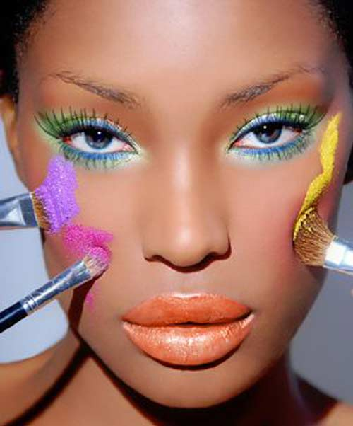 How To Apply Bridal Makeup For Black Skin : #blogteinteressa: 02.12
