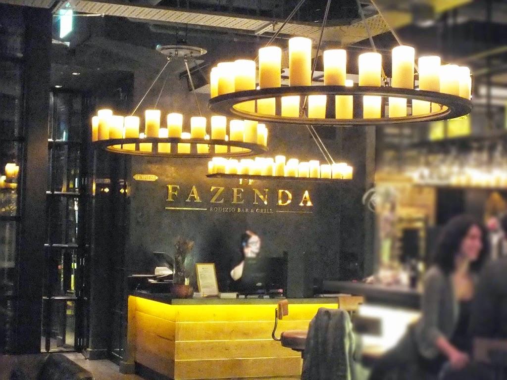 fazenda restaurant manchester reception