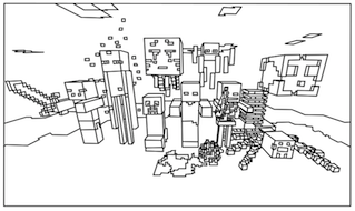 All Minecraft Coloring Pages