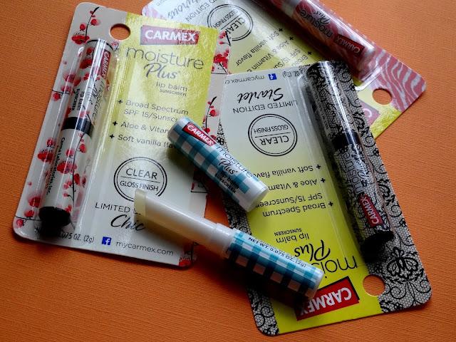 Carmex Moisture Plus' Limited Edition Glossy Lip Balms