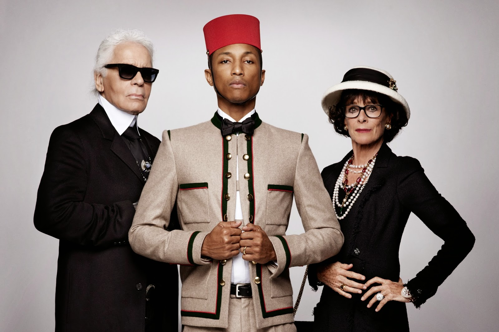 Pharell video teaser 'Reincarnation' by designer Karl Lagerfeld
