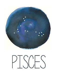 Pisces Constellation Printable from Spool and Spoon (www.spoolandspoonblog.com)