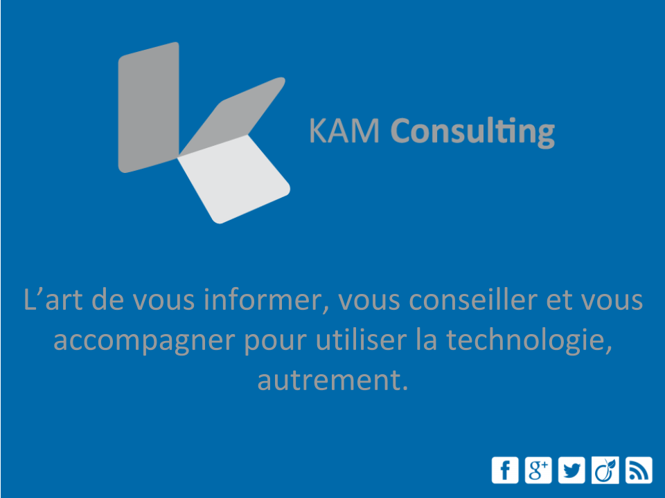 kam consulting informations