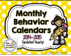 http://www.teacherspayteachers.com/Product/Monthly-Behavior-Calendars-Updated-to-Re-Download-Each-Year-831134