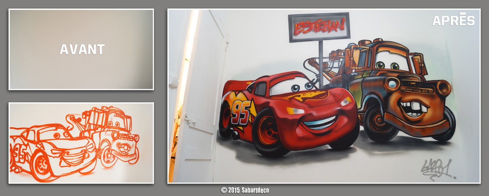 Sabartd co d coration chambre cars tourcoing for Decoration chambre cars