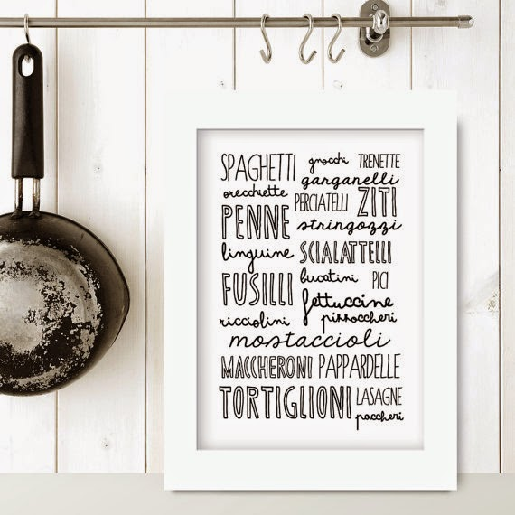 Home inspiration le stampe da appendere in cucina vita - Stampe per cucina ...